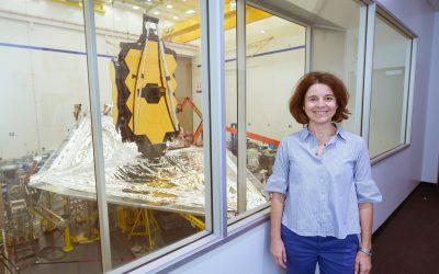 EMPLOYEE SPOTLIGHT – Giovanna GIARDINO / European instrument Scientist for the James Webb Space Telescope