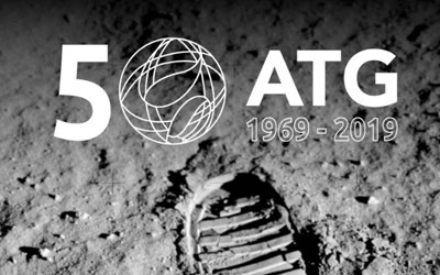 50 years anniversary of ATG Europe