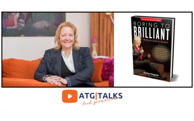 ATG Talk by Barbara Rogoski: How to make an impact with Business Storytelling
