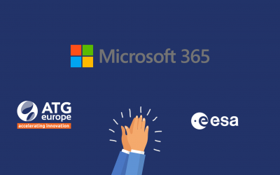 ATG Europe, with its services, supports ESA in embracing the future of technology -esa365!