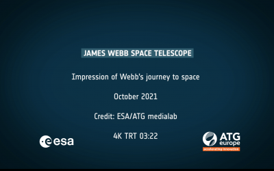 ATG Medialab illustrates James Webb's future ride to space for the European Space Agency (ESA)
