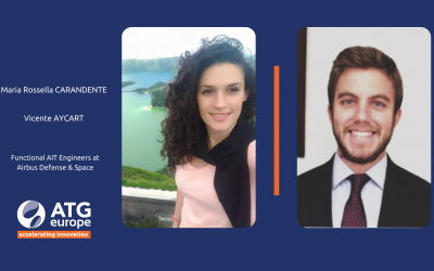 EMPLOYEE SPOTLIGHT – Our own JUpiter ICy moons Explorers : Vicente AYCART & Maria Rossella CARANDENTE